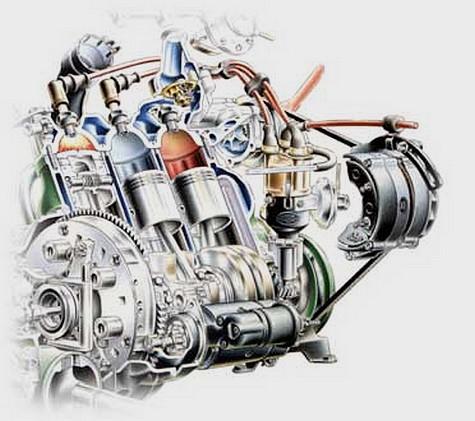 Moteur L3 2 temps by Saab