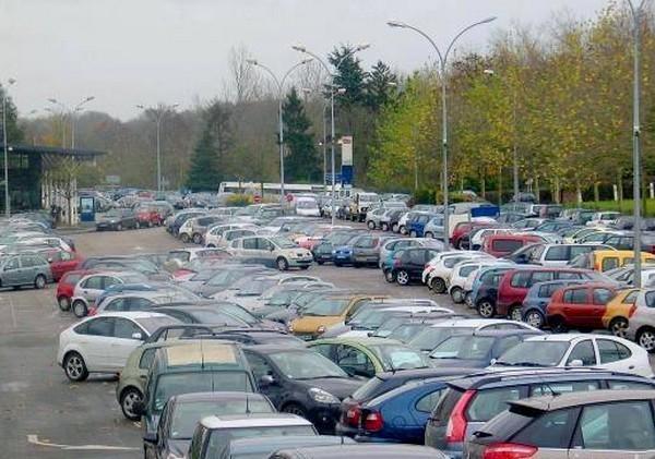Un parking français