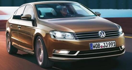 VW Passat sedan 2010