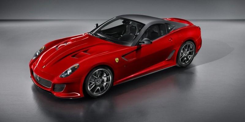 new Ferrari 599 GTO