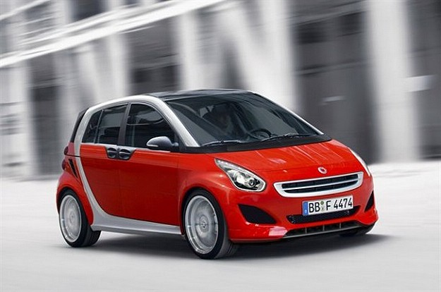 preview Smart Forfour 2013-2014