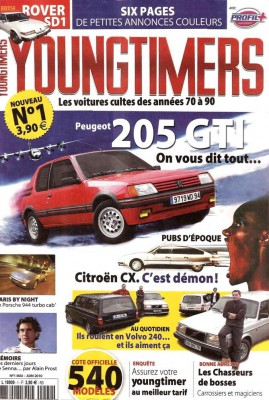 Photo Youngtimers nouvelle revue  269x400 Nouveau magazine YOUNGTIMERS