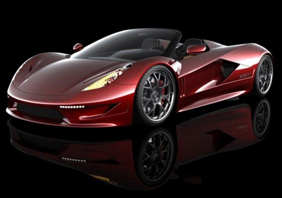 Photo 2011 transtar racing dagger gt supercar 1 560x394 TranStar Racing Dagger GT : Elle veut faire passer la Veyron pour une voiture de coiffeur