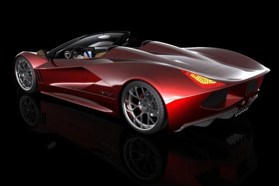 Photo 2011 transtar racing dagger gt supercar 4 560x374 TranStar Racing Dagger GT : Elle veut faire passer la Veyron pour une voiture de coiffeur