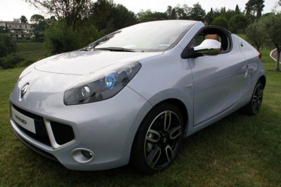 Renault Wind - Courbes