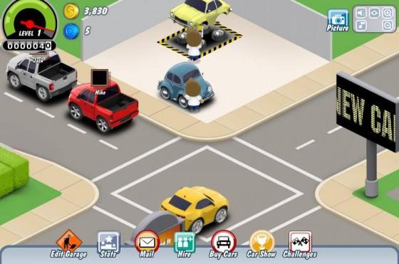 Photo car town.1 560x371 Car Town : Pour jouer aux petites voitures en communauté sociale