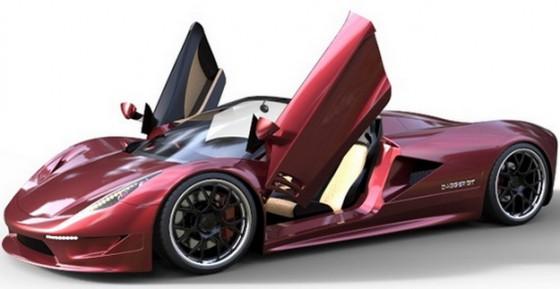 Photo transtar Dagger GT.7 560x289 TranStar Racing Dagger GT : Elle veut faire passer la Veyron pour une voiture de coiffeur