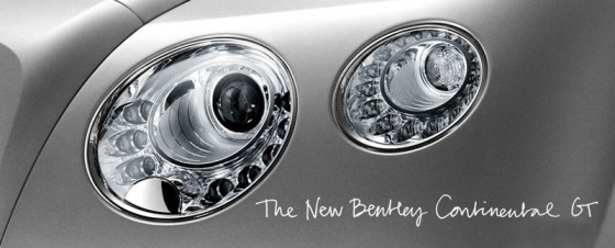 New Bentley Continental GT : Là aussi on tease !