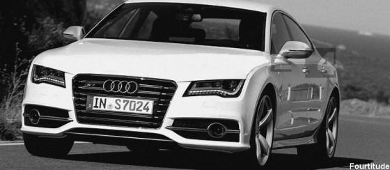 Audi S7 2011 : Premières images presque officielles
