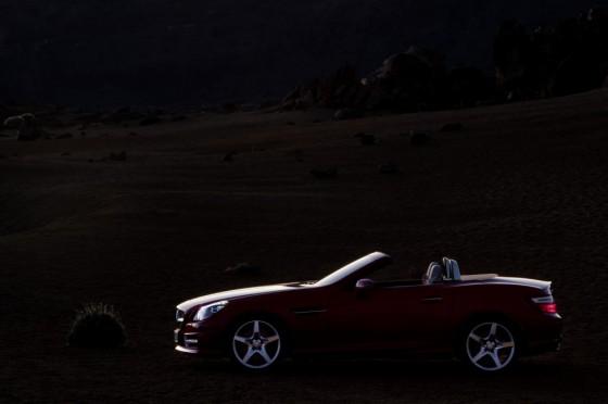 10C1228 052 560x372 Mercedes SLK 2011 : Photos et vidéos