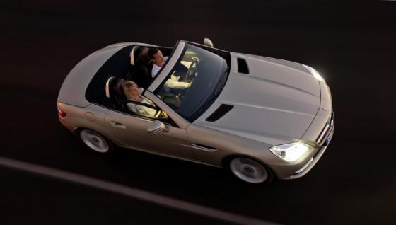 10C1230 008 560x318 Mercedes SLK 2011 : Photos et vidéos