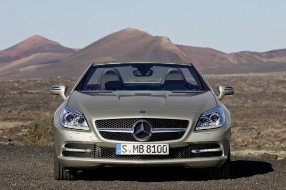 10C1230 035 560x372 Mercedes SLK 2011 : Photos et vidéos