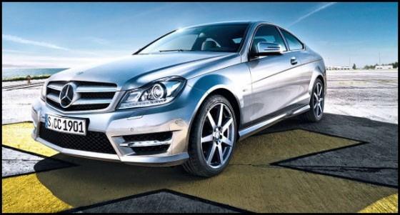 Mercedes Classe C Coupé : Les premières images officielles
