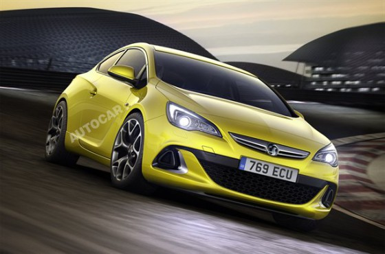Photo Vauxhall Opel Astra 3p.1 560x370 Opel Astra GTC : Premières images officielles