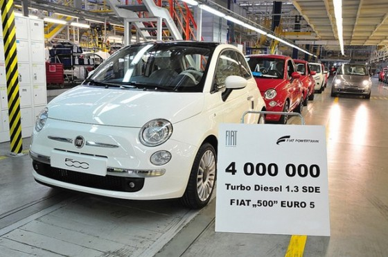 Photo 4miomjt500 560x371 Fiat : 4 Millions de moteur 1.3 L 16V Multijet et surement bien plus dans lavenir...