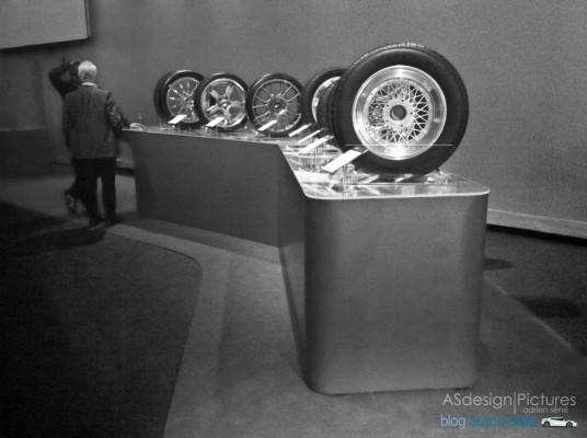 une brochette de pneus légendaire