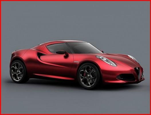 Alfa Romeo 4C Concept : Lotus Romeo….. ?     +  [MàJ]
