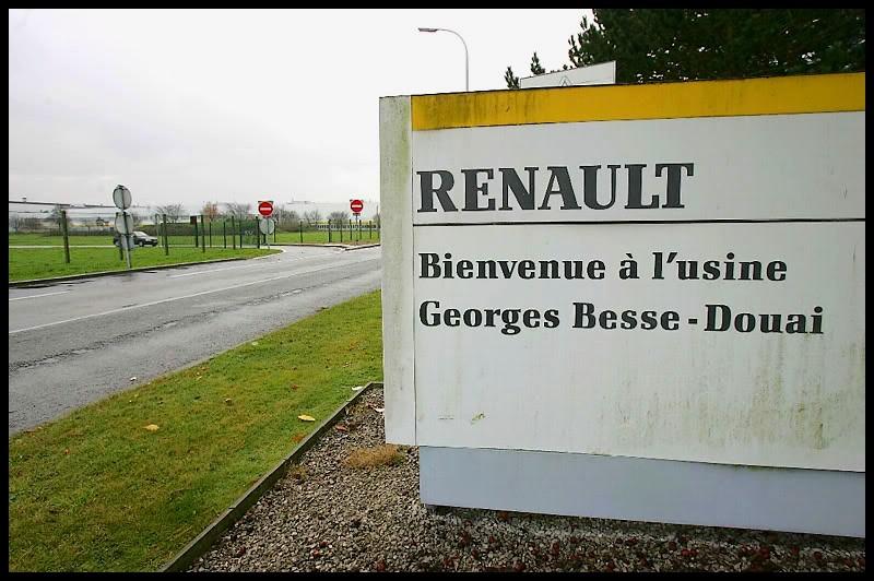 renault ch mage technique l 39 usine georges besse de douai et autres infos blog automobile. Black Bedroom Furniture Sets. Home Design Ideas