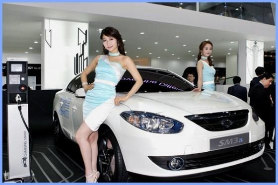 Samsung Motors SM3 ZE : Twin….