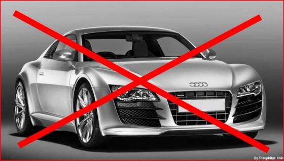 Audi R4 : A la trappe !
