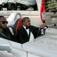 INFphoto 1710218 200x200 Festival de Cannes 2011 : Kanye West préfère se la péter en SLR Stirling Moss plutôt quen Latitude dCi !