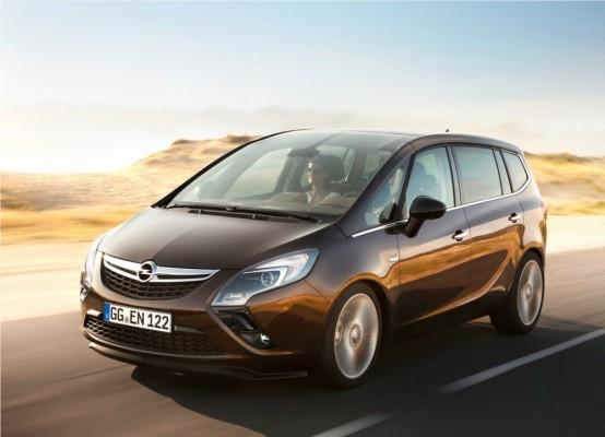 Photo Opel Zafira Tourer 2012 01 554x400 Opel Zafira Tourer 2012 : Tout nouveau et tout beau     (vidéo)