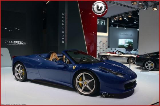 Ferrari 458 Italia Spider : Plus vraie que nature ! ( +  qq infos Ferrari )