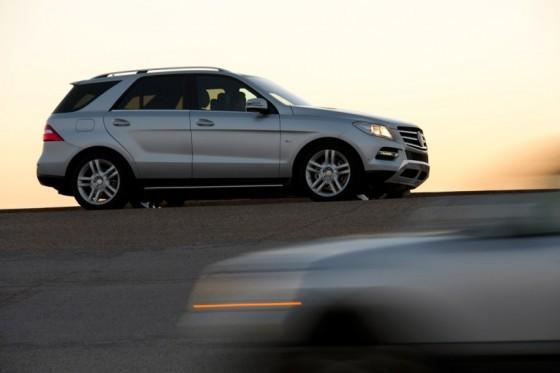 Mercedes Benz ML 2012 : Officiellement…maouss nouveau !  (+ 1ere vidéo)