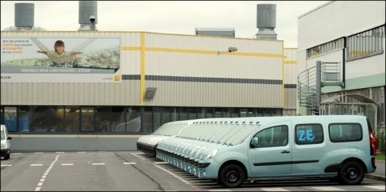 Renault : Les premiers Kangoo ZE de série sortent des chaines de production