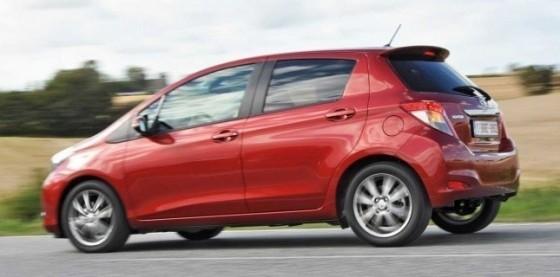 La Nouvelle Toyota Yaris à l'essai.