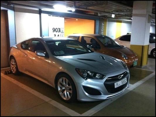 Hyundai Genesis Coupé 2012 : Le voilà…