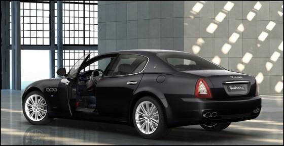 Photo Maserati Quattroporte.6 560x289 Maserati : Des Quattroporte pour le Ministère de la défense (entre autres !)