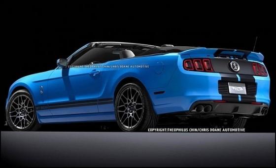 Photo 2013 ford gt500 convertible t. chin.2 560x341 Ford Mustang Shelby GT500 Cabriolet : Le cabriolet à la moteur V8 le plus puissant du marché en approche