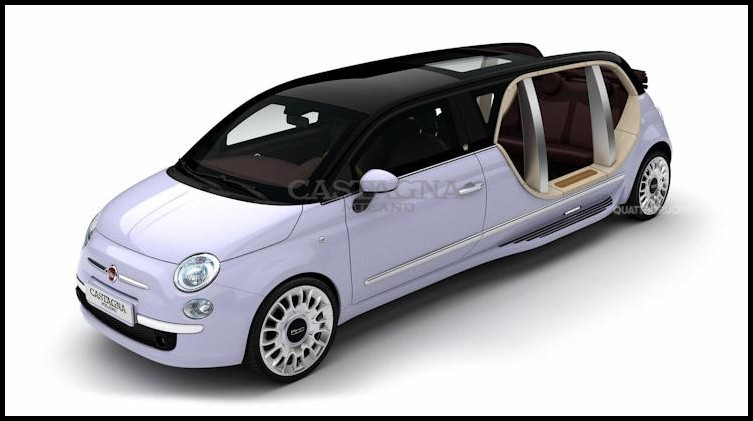 fiat 500 limousine lectrique derni res nouvelles. Black Bedroom Furniture Sets. Home Design Ideas