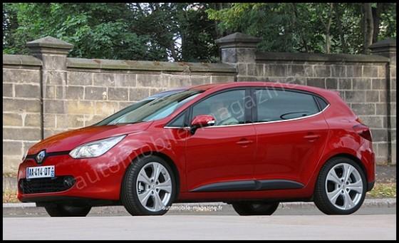 Renault Clio IV : Quelques informations