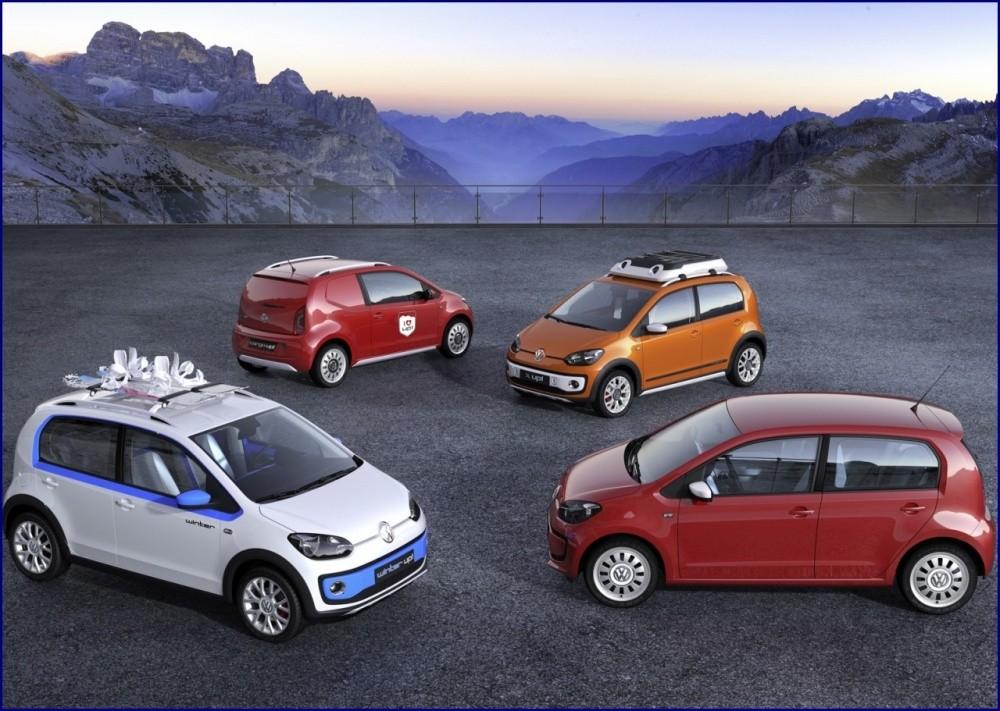 VW UP Genève 2012