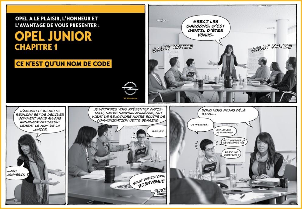 Opel Junior Teaser