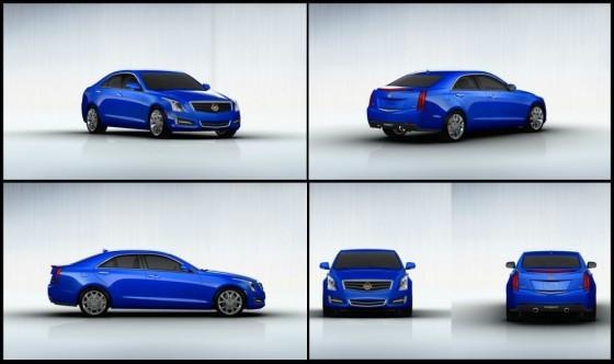 Cadillac : L'ATS prépare son arrivée sur le marché en dévoilant son configurateur