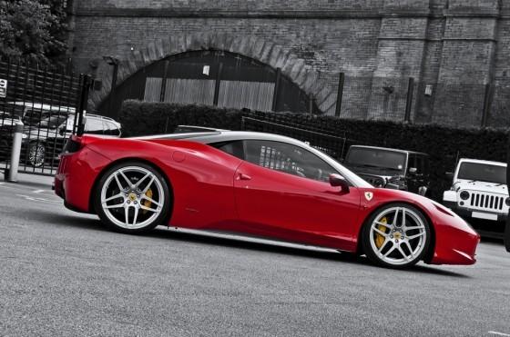 F458 Kan Design.14 560x371 Ferrari 458 Italia By Kahn Design : Pour changer des Land Rover