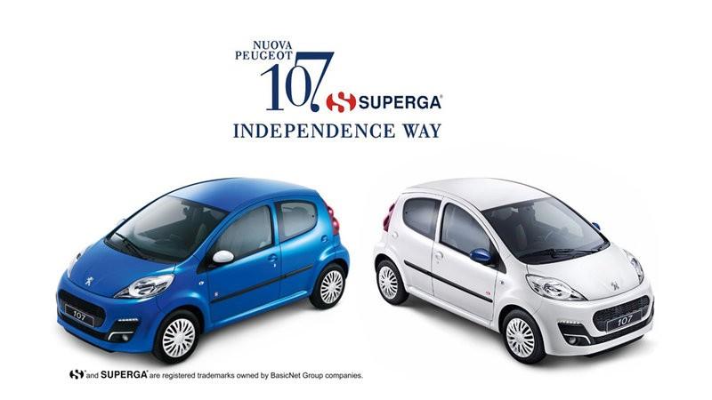 Peugeot 107 Superga