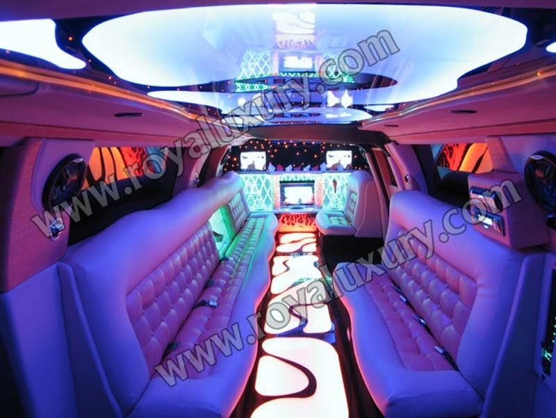 Intérieur Audi Q7 Limo