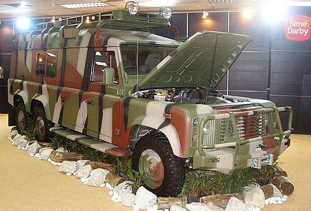 Un Land Rover Defender 6×4 pour l'armée