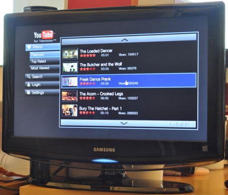 Photo youtube tv Vidéos insolites de la semaine