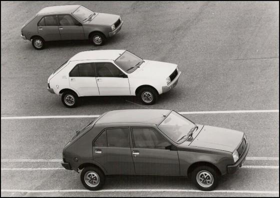 Photo Gamme R14 millesime 79 560x395 Renault 14 : Une bonne poire surdouée    (vidéos)