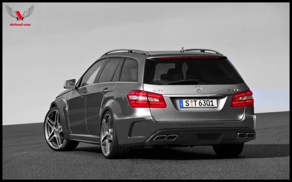 Mercedes benz e 63 amg break black series et si for E series mercedes benz