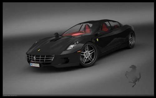 Une Ferrari à quatre portes ?