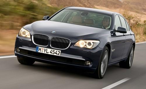 BMW Série 7 2009 - Avant