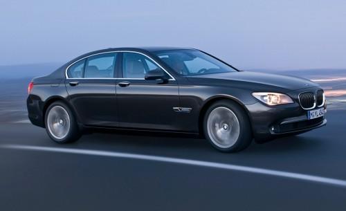BMW Série 7 - 2009 - Vue latérale