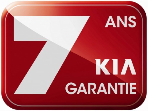 Logo Kia 7 ans de garantie