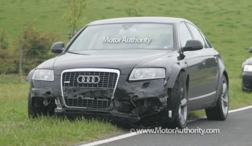 Audi A7 crashée
